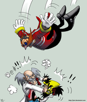 SCIENTIST FIGHT!!! by JenL