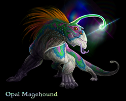 Full-Moon-Trilogy Opal Magehound by Viergacht