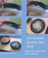 Air Symbol Jewelry Box WIP by MissCaltra