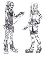 Obi and Mel KH style by Obi-quiet