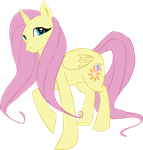 Alicorn Fluttershy by LouiseWeird