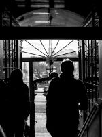 2014-1-11: Entrance Silhouette by indybird