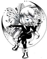 Lucy a pen sketch by tangmyun