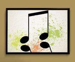 music note by ColourInk