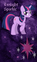 Twilight Sparkle Win7 Phone WP by TecknoJock
