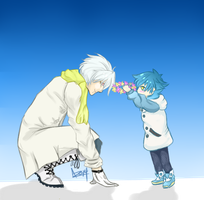 {thank.you.aoba-san} by CHASlNG-GHOSTS
