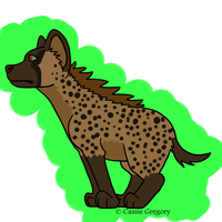Hyena Adopt 10 by The-Smile-Giver