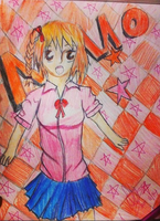 Momo Kisaragi .:Contest Entry:. by IvyDevi