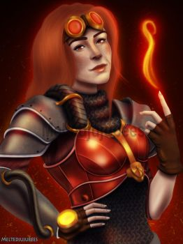 Chandra Commission by Meltedjujubees