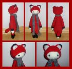 Fibi the fox by KnitLizzy