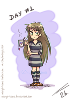 [Challenge] [Draw yourself 30 days] Day#1 by Margo-sama