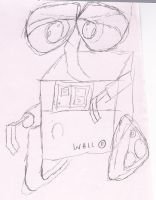 Wall E by icantdraw777