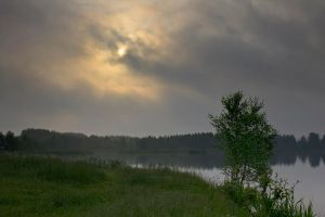 Morning On The Lake by DeingeL