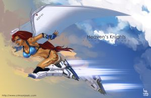 Heaven's Knight by transfuse
