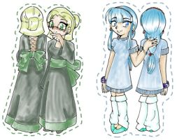 Models - Fuu and Umi by hyperlink