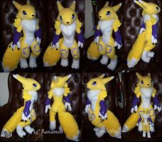 "25"" Renamon commission by YutakaYumi"