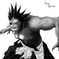 Zaraki Kenpachi, Black Version by Janaco94