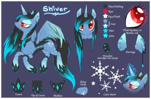 Shiver Pony Reference by AlicornParty