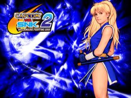 CVS2 Blue Maki Wallpaper by WhiteAngel50000