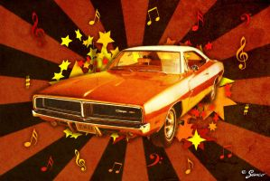Dodge Charger by sanco