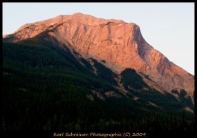 Jasper Mountains by KSPhotographic