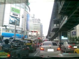 Busy Street of Bangkok - 2 by pete7868