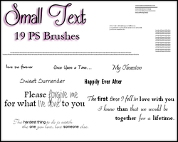 PS Small Text by Illyera