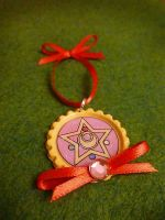 Sailor Moon Crystal Star Compact Brooch Christmas by Monostache