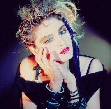 Vintage Madonna and Colours by Denjo-Reloaded