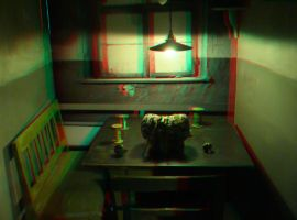 The room 3D Anaglyph by yellowishhaze