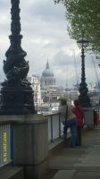 Towards St Paul's by YesIamEccentric