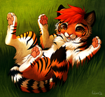 The Littlest Tiger by falvie