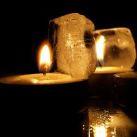 Ice and Candles II by Jade-DV