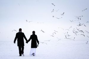 Winter Wedding by PhotoYoung