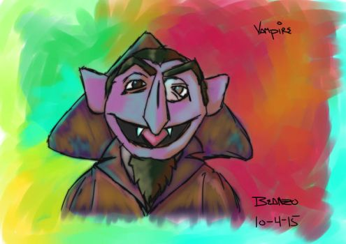 The Count by beanzomatic