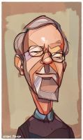 RIP Elmore Leonard by michaelfirman