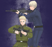 Germany and Prussia by Shinigami-Spartan