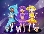 AT: Celestial Pretty Cure by RedvelvetPierrot