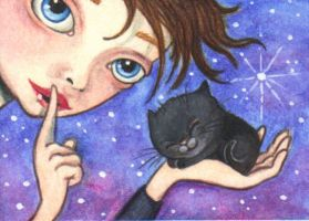 ACEO - Familiar Fatigue by KootiesMom