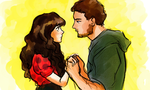 New Girl: Nick and Jess by pebbled