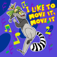 The party animal King Julien by KingJulienFangal