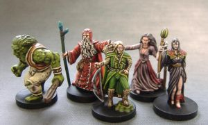 Models from Talisman by Cezarreo