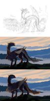 Watching the sunrise - Walkthrough by Anoroth