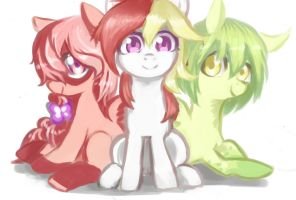 Chengdu ponies! by Magiace