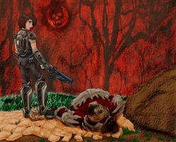 GOW3 contest entry by sapphire-night