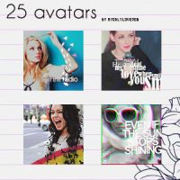 25 avatars by myonlyloverob