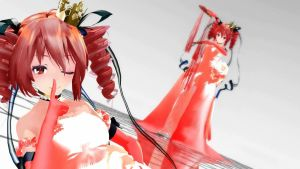 TDA Kasane Teto Dress DL Models [Close] by HestiaSama
