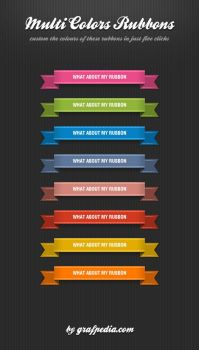 Ribbon Special Colors by Grafpedia