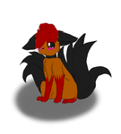 a different Vulpix by RedFireEeveeForever