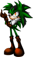 Commission: Havoc the Hedgehog by LancerWolf13